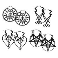 Cercei Set Wicca negru