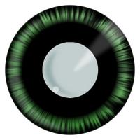verde Manga ochi