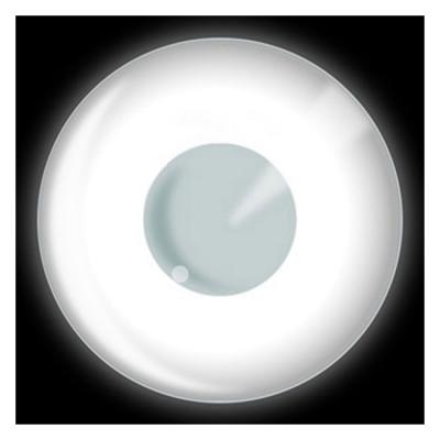 alb ochi UV