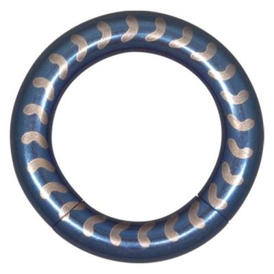 albastru Smooth Vertebrae