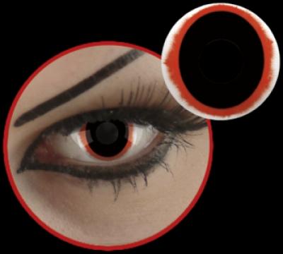 Bloody Oval -Lentile de contact Terror Eyes - Lentile de contact colorate