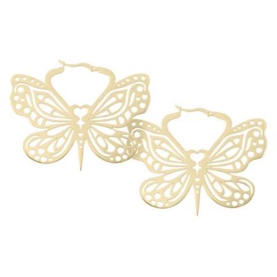 Cercei Golden Bohemian fluture