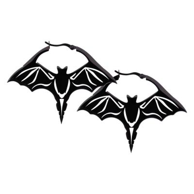 Cercei negru Bat