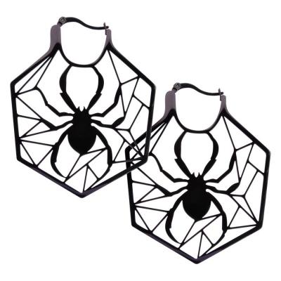 Cercei negru Spiderweb