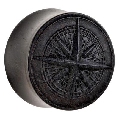 Compass on abanos lemn
