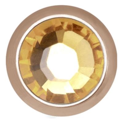 Disc pentru intern cu filet cu strasuri