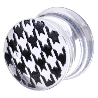 Finished By Handcraft Houndstooth