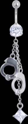 Hanging Cuffs - otel chirurgical Basicline - Piercing in buric