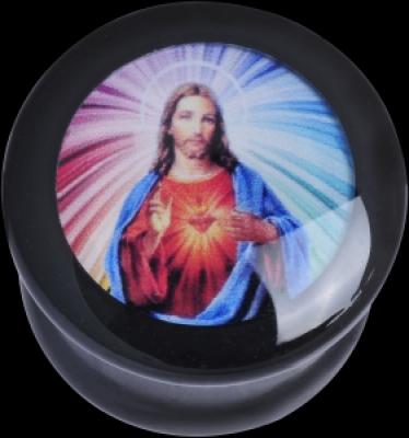 ilustratie Jesus - PMMA - Plugs, Tunnels