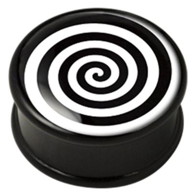 ilustratie Op-Art spirala