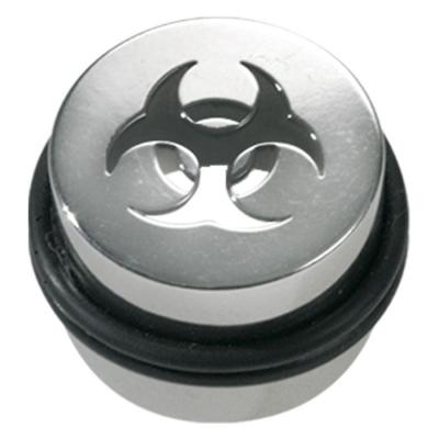 Laser Cut Canister Biohazard