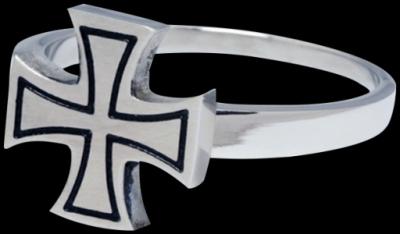 mare Templar cruce - otel chirurgical Basicline - Inele