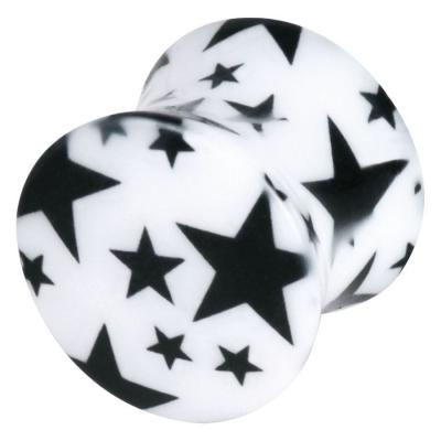 negru Multistars On alb