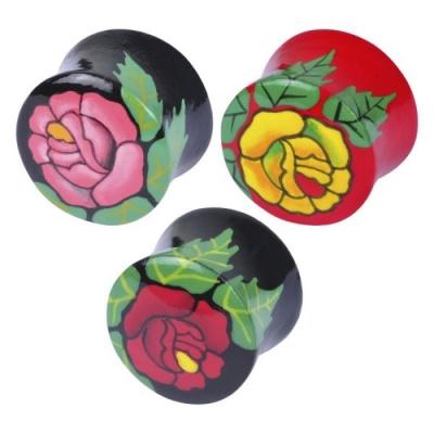 Painted trandafir