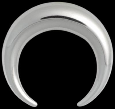 Piercing Enlarging Crescent Basic otel chirurgical Basicline Wildcat