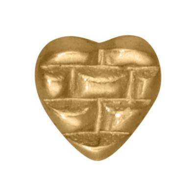 Piercing in buza Golden inima