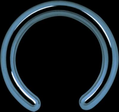 Piercing Titan Highline Closure inel anodizat Wildcat