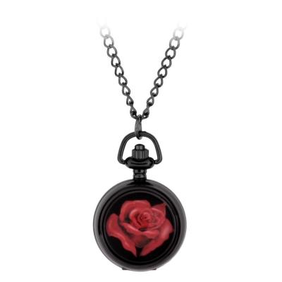 rosu trandafir Pocket Watch