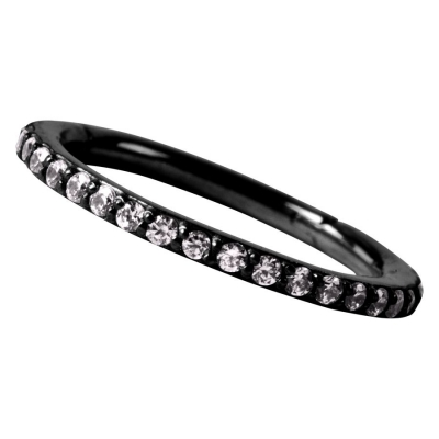 Set Pave cristal Conch inel