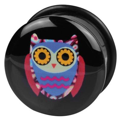Single Flared Logo Owl