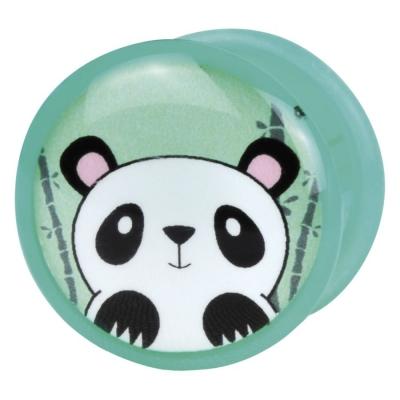Single Flared Logo Panda