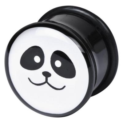 Single Flared Logo Panda Face