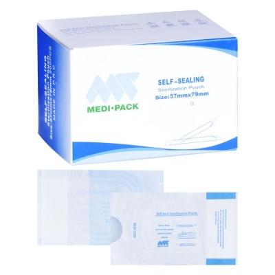 Transparent sterilization bags