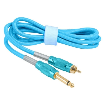 Turquoise Parachute Cord Clip Cord
