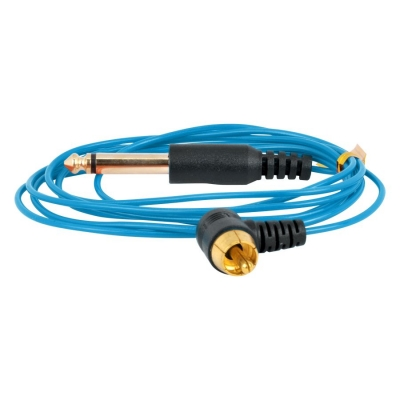 Ultra subtire RCA Clipcord albastru