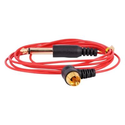 Ultra subtire RCA Clipcord rosu