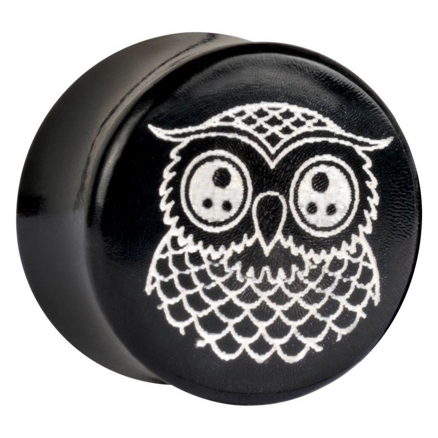 Cute Owl on corn Deluxe