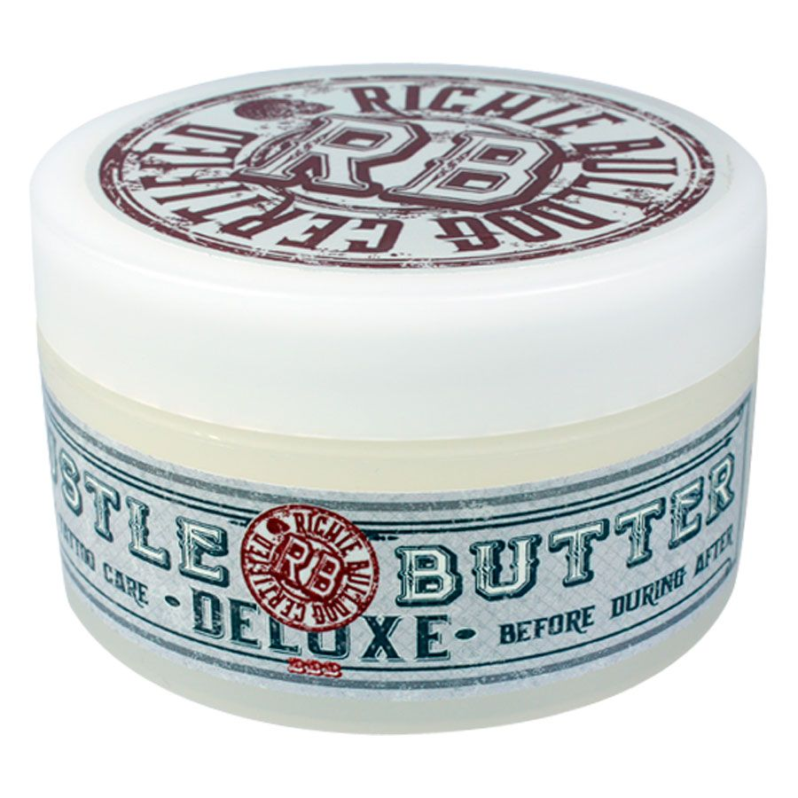 Hustle Butter Deluxe tatuaje Aftercare